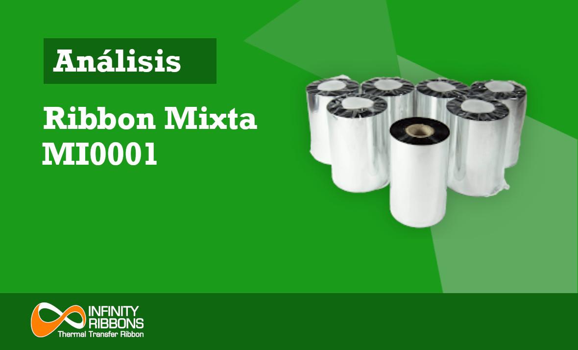 Análisis Ribbon Mixta MI0001