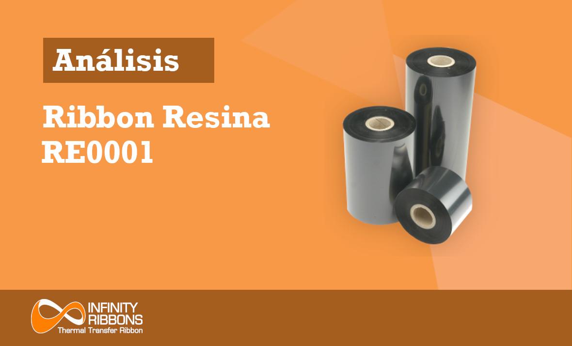 Análisis Ribbon Resina RE0001