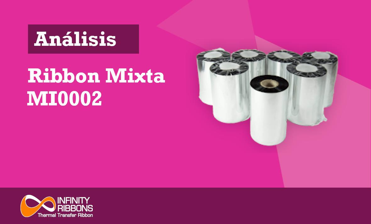 Análisis Ribbon Mixta MI0002