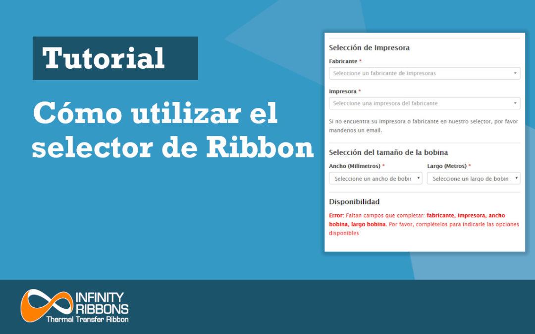 Cómo utilizar el selector de Ribbon
