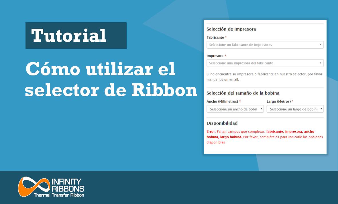 Tutorial cómo utilizar el selector de Ribbon