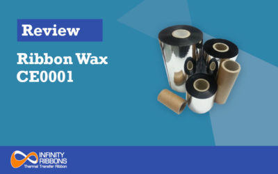 Review Ribbon Wax CE0001