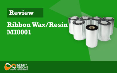 Review Ribbon Wax/Resin MI0001