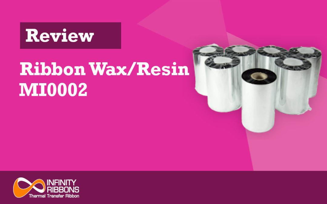 Review Ribbon Wax/Resin MI0002