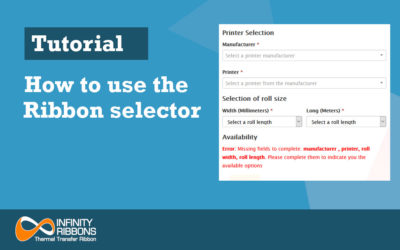 How to use the Ribbon selector